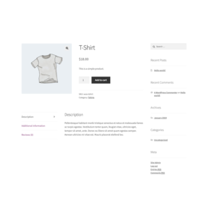 WooCommerce Disable Related Products Screenshot
