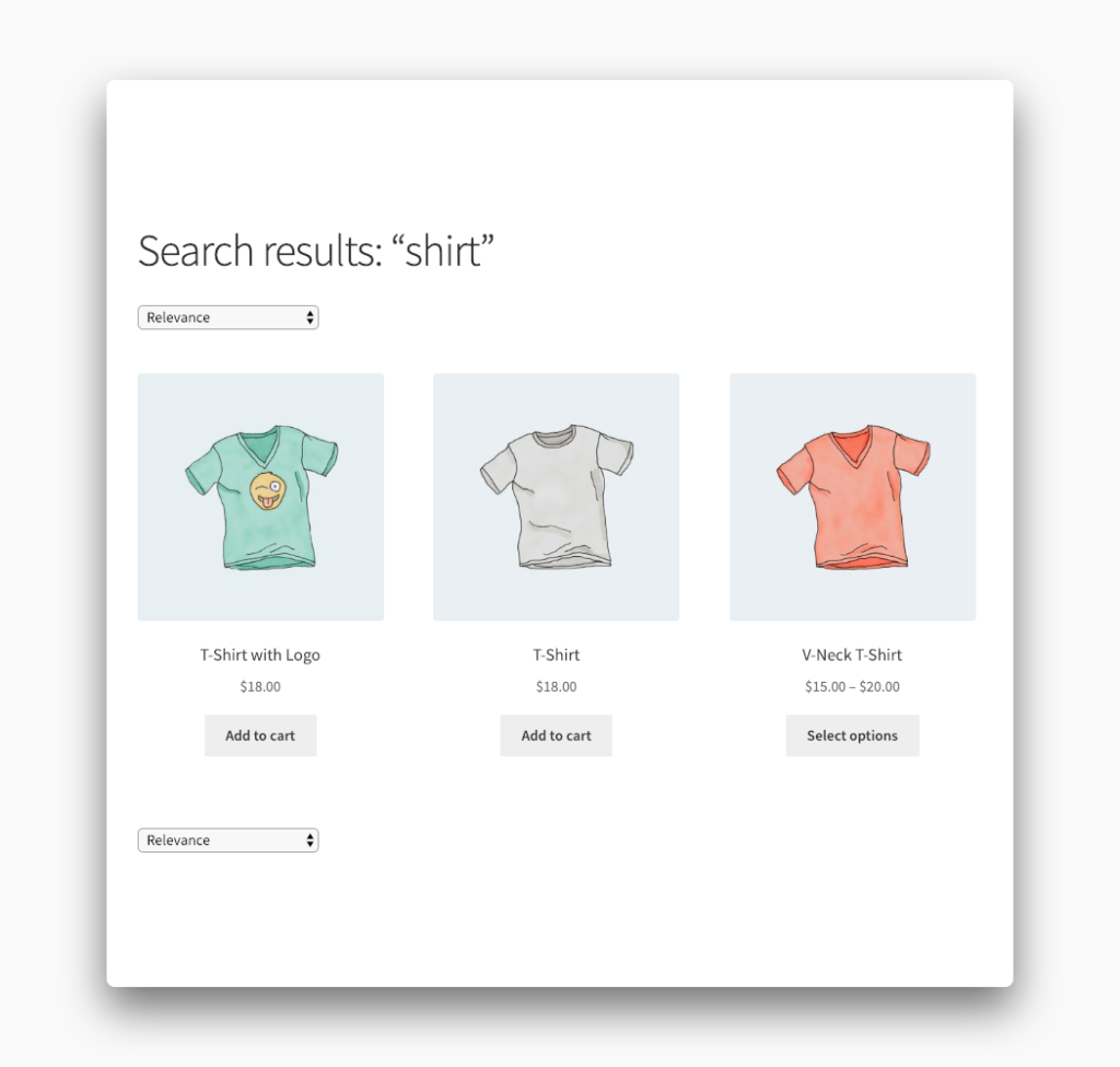 Search Result Count Removed from WooCommerce
