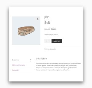 WooCommerce Disable SKU Screenshot