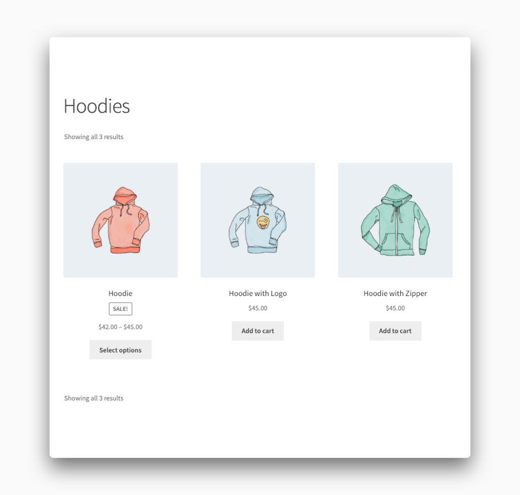 Sorting Dropdown Removed from WooCommerce