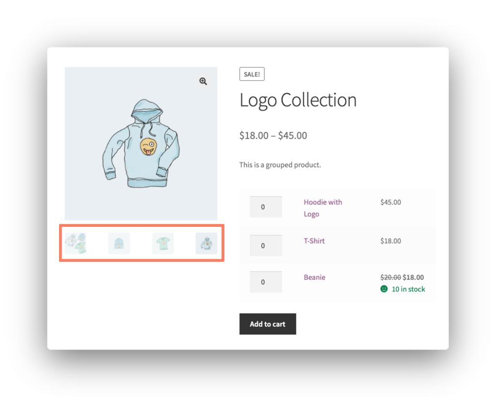 Product Image Slider Screenshot